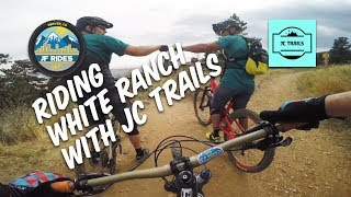 Mountain Bike Riding White Ranch with JC Trails - MTB.