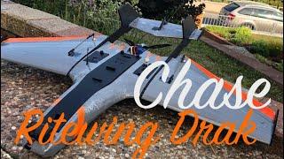 Ritewing Nano Drak   sunset   chase   FPV Wing   Team BlackSheep