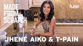 Jhené Aiko & T Pain Talk About Family While Cooking With Their Moms | Made From Scratch | Fuse