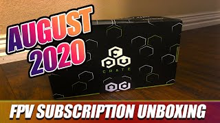 August FPVCRATE | 2020 | Unboxing & Review! - Loved It!