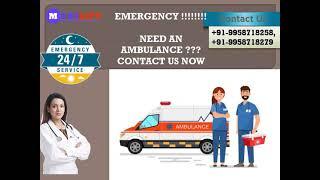 Patient Monitoring Ambulance Service in Gaya by Medilift Ambulance