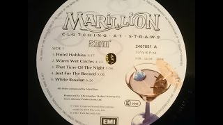 Marillion - Hotel Hobbies / Warm Wet Circles / That Time Of The Night (Vinyl)