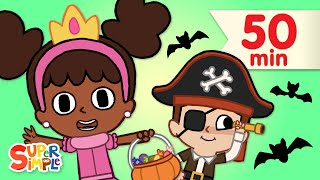 Hello, Trick Or Treat? | + More Halloween Songs for Kids | Super Simple Songs