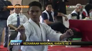 145 Atlet Ikuti Kejurnas Karate di Padang