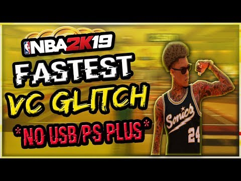 Download New Fastest Nba 2k19 Unlimited Vc Glitch 200k Vc A Hour An