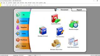 SQL Accounting System Tutorial 003 Creation & Activation for New Company