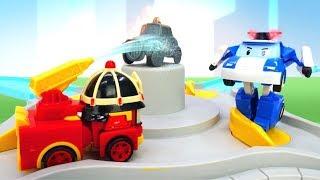 Tolle Spielzeugautos - Die Robocars sind im Einsatz - Video für Kinder