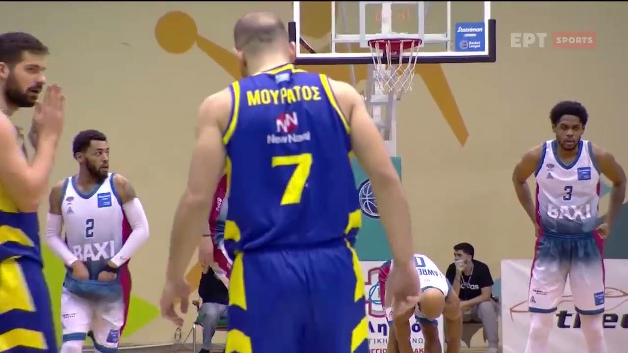 Basket League   Μεσολόγγι – Λαύριο   20/03/21   ΕΡΤ