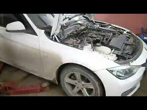 Фото к видео: BMW 320d - Замена цепи ГРМ (N47d20)