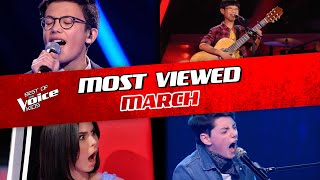 TOP 10   The Voice Kids: TRENDING IN MARCH 2020