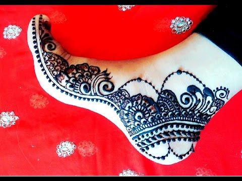 Feet Mehndi Design Arabic Henna Mehndi 2016 Leg Pattern Naush