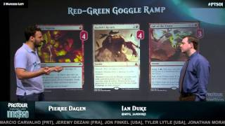 Pro Tour Shadows over Innistrad Deck Tech: Goggle Ramp with Pierre Dagen