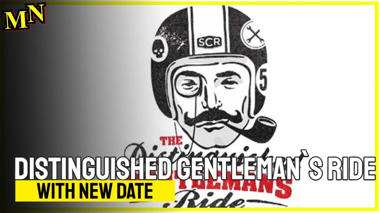 Distinguished Gentleman`s Ride mit neuem Termin
