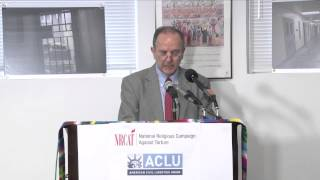 Juan Mendez - Briefing on Solitary Confinement