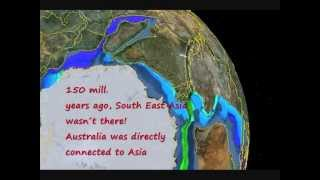 Indian Ocean Reconstruction (Growing Earth/Plate tectonics) - Video Youtube