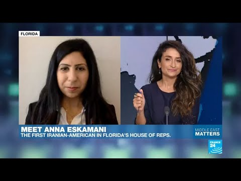 US - Meet Anna Eskamani, the first Iranian-American in Florida's House of Representatives