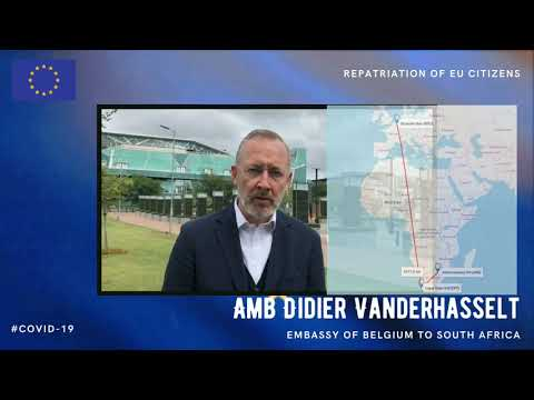 EU-Belgian collaboration on repatriations from South Africa