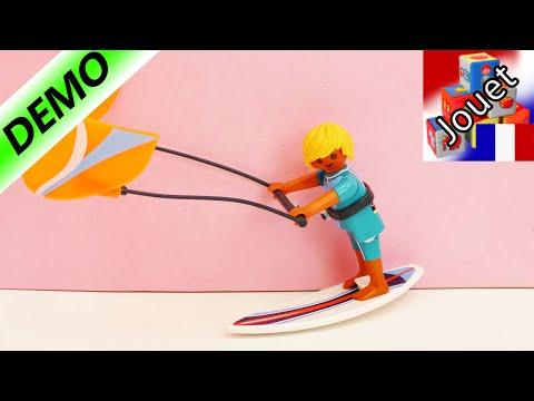 Œuf de Pâques Playmobil 6838 Kitesurfer Sports and Action Serie avec une planche de surf