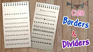 Borders And Dividers Drawing By Finz Easy Art