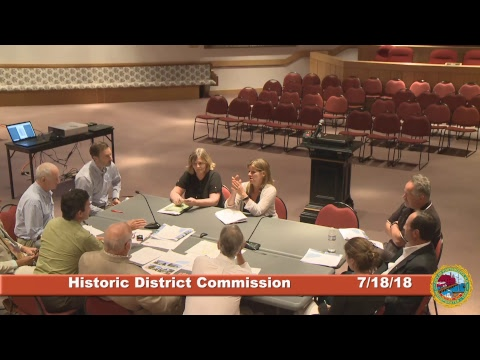 Historic District Commission 7.18.18