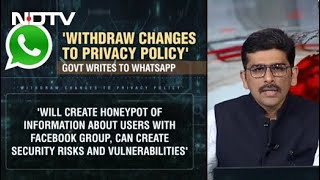 """Withdraw """"Discriminatory"""" Policy For Indian Users: Government To WhatsApp"""