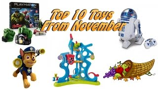 TTPM Top 10 Most Viewed Toys from November! Spin Master, Thinkway Toys, Fisher-Price
