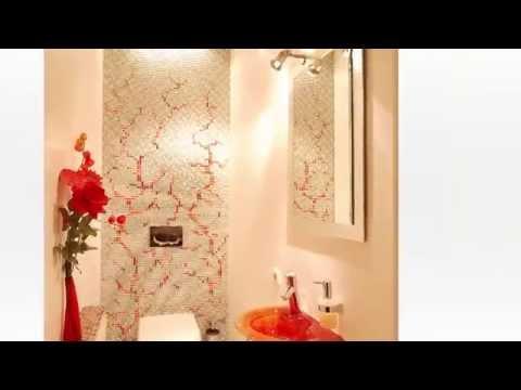 Gäste WC Ideen - Gäste WC renovieren / sanieren mit schönen Fliesen.