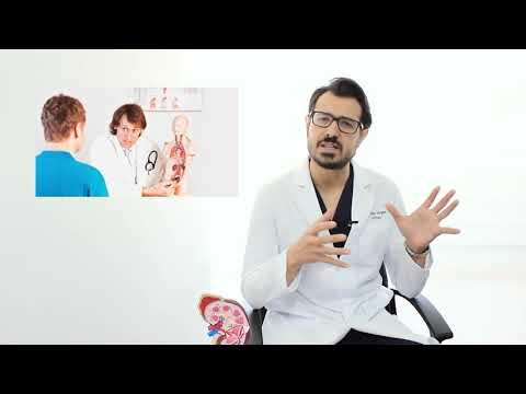 Schaltung medizinische Behandlung von Prostata-
