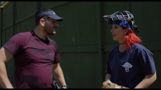 Teaching My Boyfriend How To Pitch A Softball