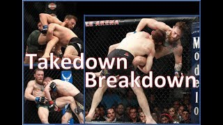 Conor v Khabib - MMA Takedown Breakdown