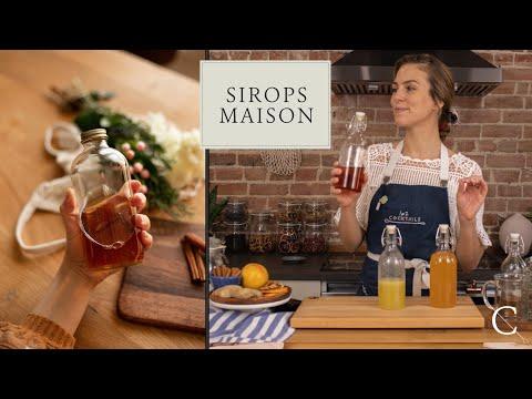 3 recettes de sirops maison faciles à faire! (Cannelle-Gingembre-Pamplemousse) | 1 ou 2 Cocktails