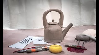 Creating A Cylindrical Slab Teapot With Darts And A Hollow Handle  Intermediate Level