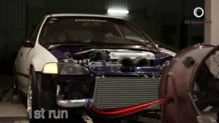 Download Video honda civic hatchback B18C type R Turbo over 400HP MP3 3GP MP4