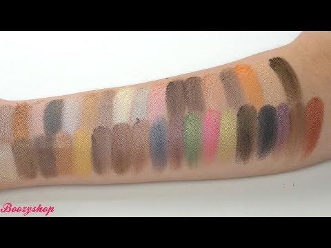 Crown Brush Crown Brush 35 Colour Metal Madness Eyeshadow Palette