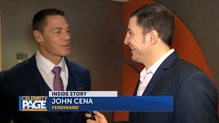 """1 on 1 With John Cena About """"Ferdinand"""", The Rock, Marriage And More"""
