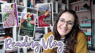 Reading 3 Historical Romances And Unboxing 29 Johanna Lindsey Romances | Reading Vlog