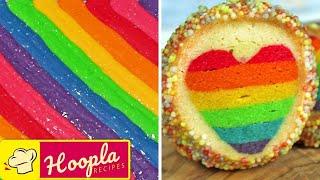 Yummy Desserts | Rainbow Treats | Part 1 @Cake Ideas By Hoopla Recipes