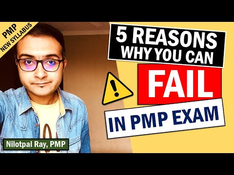 TOP REASONS TO FAIL PMP EXAM IN 2021 | Why ... - YouTube
