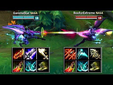 KAI'SA lên đồ Onehit vs KAI'SA Crit | Kiểu nào mạnh hơn?