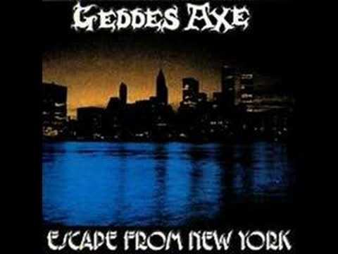 Geddes Axe - Escape From New York online metal music video by GEDDES AXE