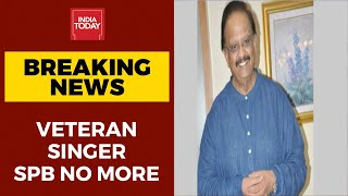 Vetran Singer SP Balasubramaniam Dies At 74 In Chennai | BREAKING - Download this Video in MP3, M4A, WEBM, MP4, 3GP