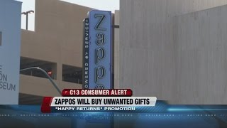 Zappos offering gift cards in exchange for presents
