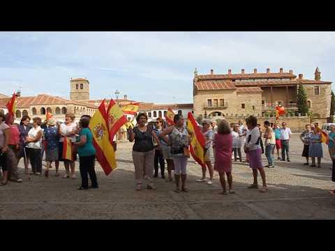 Concentración en la Plaza por la unidad de España