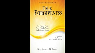 New Bestseller: True Forgiveness by Rev. Jennifer McSween