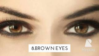 The Top 8 Most Attractive Eyes Colours