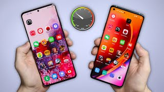 OnePlus 8 Pro vs Samsung Galaxy S20 Ultra - SPEED TEST