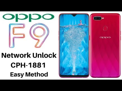 How To Oppo F9 Network/Country Unlock - смотреть онлайн на