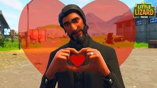 JOHN WICKS LOVE STORY! *EMOTIONAL* Fortnite Short