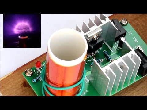 DIY Mini Tesla Coil Module from Banggood