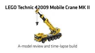 Lego Technic 42009 Mobile Crane MK II A-model Build & Review